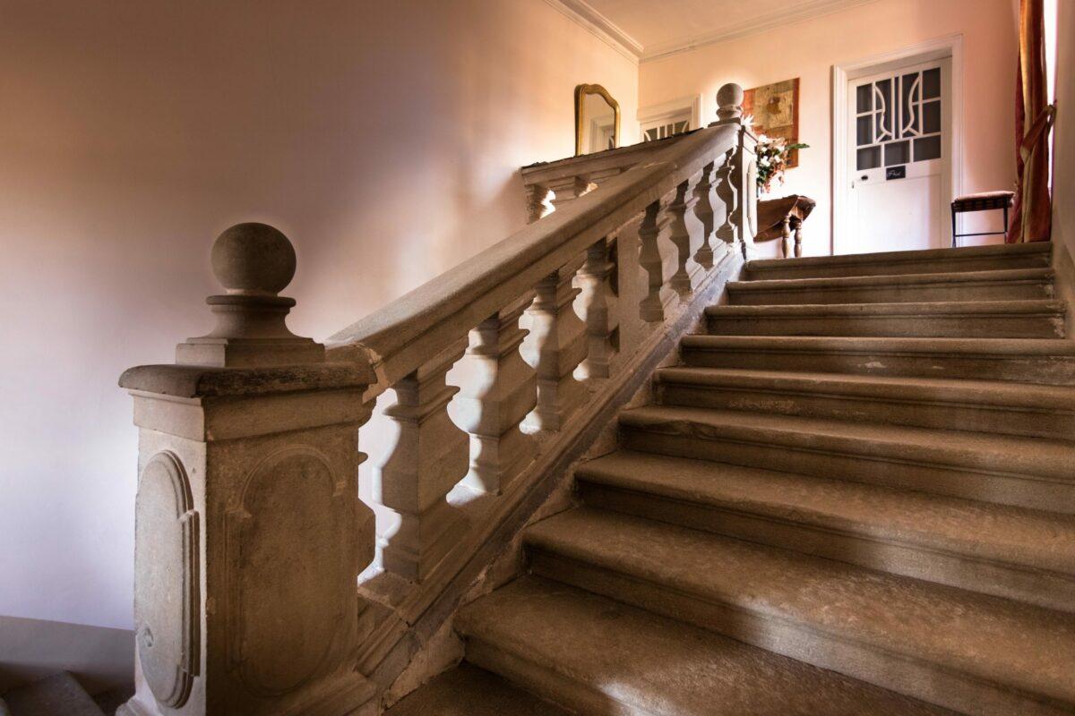 Escalier du Château de Puichéric