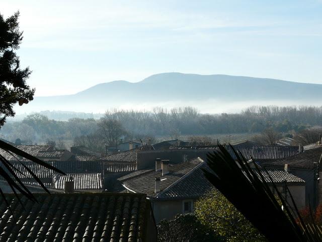 Vue avec brouillard